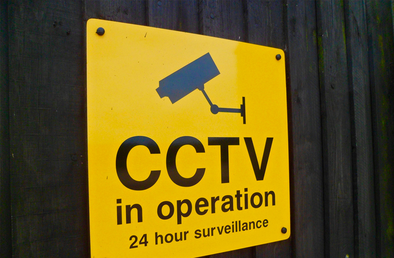 24-hour cctv self storage